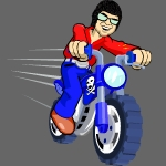 Roadside Biker